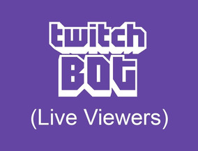 Twitch Bot ( Live Viewers )