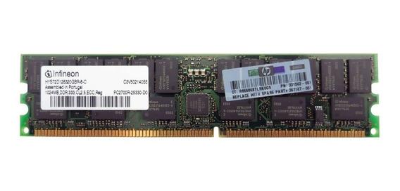 Memoria Ram Hp 331562-001 1gb Memory Pc2700 333mhz