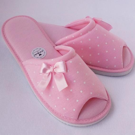 Chinelo De Quarto Feminino Adulto Infantil Confortável Tn12