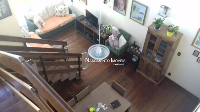 Cobertura Residencial À Venda, Cambuí, Campinas. - Co0058