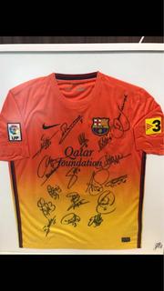 Camisa Barcelona - Titulo 2012/2013.