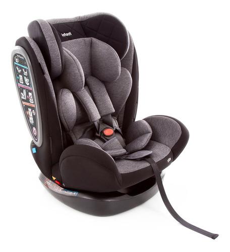 Cadeira Para Auto Infanti Vita De 0 A 36 Kilos Grey Fuzz