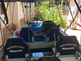Lancha Pantanaltica, Motor 40 Hp, Completa Conjunto Ano 2012