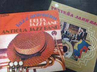 Porteña, Delta Y Antigua Jazz Band Discos Vinílo Pack X 2
