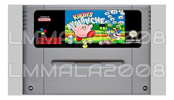 Kirbys Avalanche Original Em Inglês Super Nintendo Snes