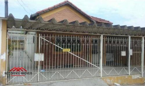 Casa Com 4 Dormitórios À Venda, 150 M² Por R$ 640.000,00 - Jardim Bela Vista - São José Dos Campos/sp - Ca0256