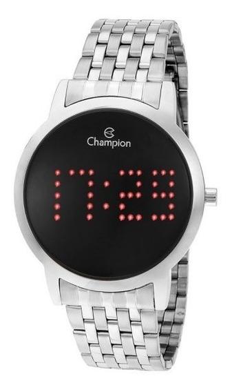 Relógio Feminino Prata Champion Digital Lançamento Ch40008t