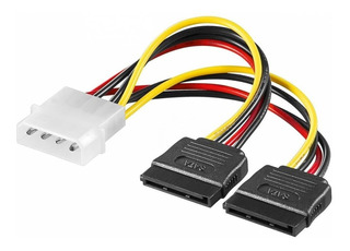 Cable Adaptador Power Molex A Doble Sata - Factura A / B