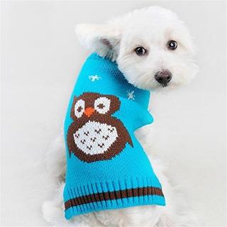 Nacio - Ropa Para Mascotas Sueter De Buho Para Perros Y Gato
