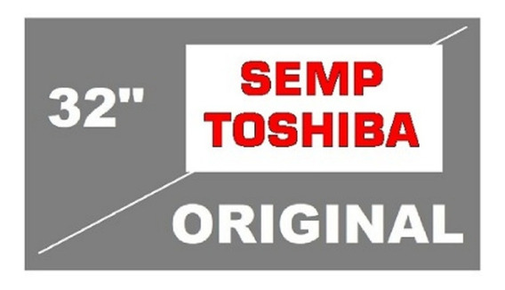 Semp Toshiba - Película Polarizadora Lcd Led Tv 32 Zero Grau
