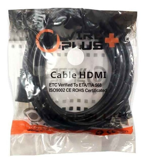 Cable Hdmi 1mt Dvr Playstation Xbox Blue-ray