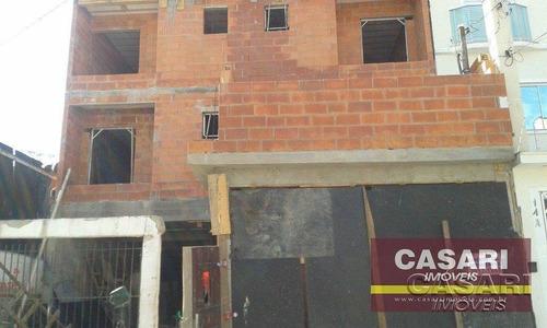 Imagem 1 de 1 de Cobertura Residencial À Venda, Vila Scarpelli, Santo André - Co2177. - Co2177