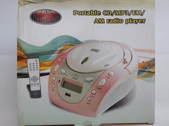 Radio Reproductor Portatil Gh-413mu ( Nuevo En Caja )