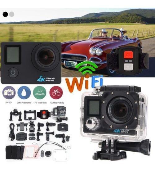 Câmera 4k Com Controle Remoto
