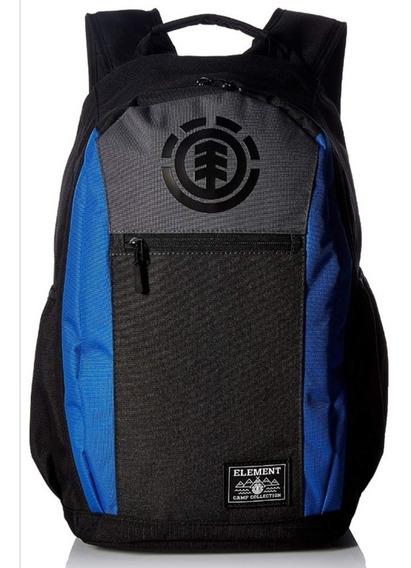 Mochila Element Sparker Backpack Black Negro Azul