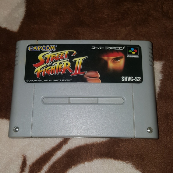 Super Nintendo - Street Fighter 2 Turbo Ou Street Fighter 2