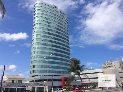 Imagem 1 de 4 de Sala Comercial De 96 M² No Empresarial Terra Brasilis Vista Plena Para O Mar Só 480 Mil !!  - 204
