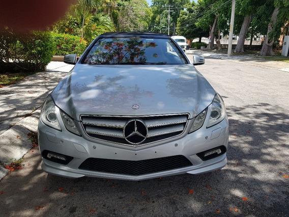 Mercedes Benz E350 Convertible 2011 Plata
