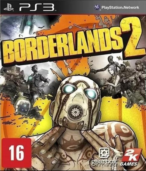 Borderlands Promoção 1 E 2 Ps3 Leia Descrição