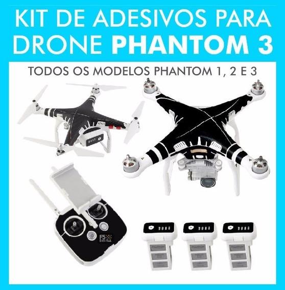 Adesivo Para Drone Dji Phantom 3 / 2 / 1