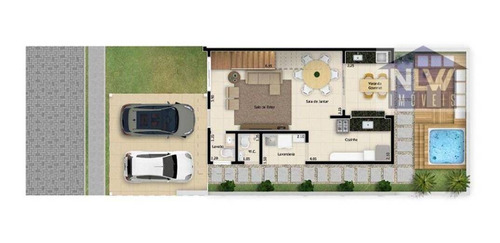 Imagem 1 de 7 de Casa À Venda, 130 M² Por R$ 713.000,00 - Jardim Piratininga - Sorocaba/sp - Ca0192