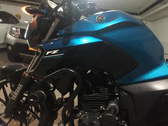 Yamaha Fz25 Azul Único Dueño 2018 5.600 Kms Hermosa