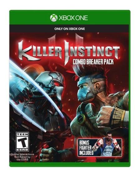 Killer Instinct Para Xbox One Mídia Física Original