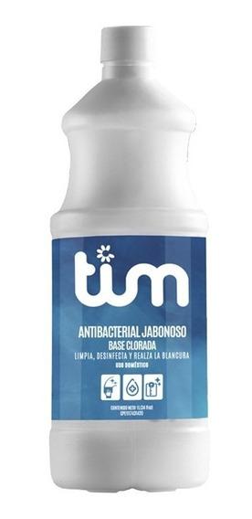 Antibacterial Jabonoso Base Clorada