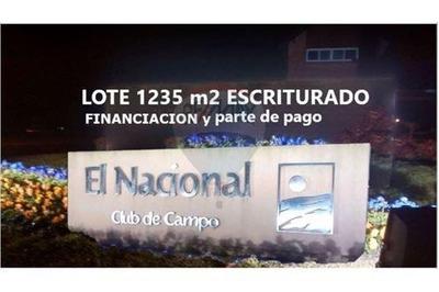 Lote 1235 M2. Barrio Los Escritores. P/pago Y Fin