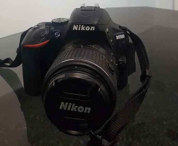 Camara Nikon D5500 + Bolso Y Caja. 800 Disparos