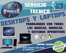 Servicio Tecnico Computadoras Escritorio Y Laptops Tecnola