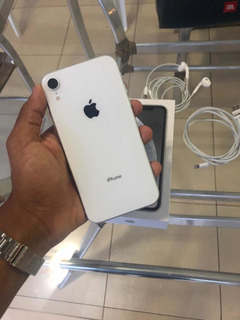 iPhone Xr 128gb Branco Com Caixa E Todos Acessórios