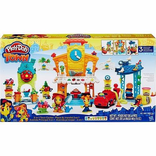 Kit Conjunto Play-doh Town Avenida Principal B5868 - Hasbro