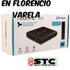 Convertidor Smart Tv Box Android Noga Pcpro 4k +remoto C/voz