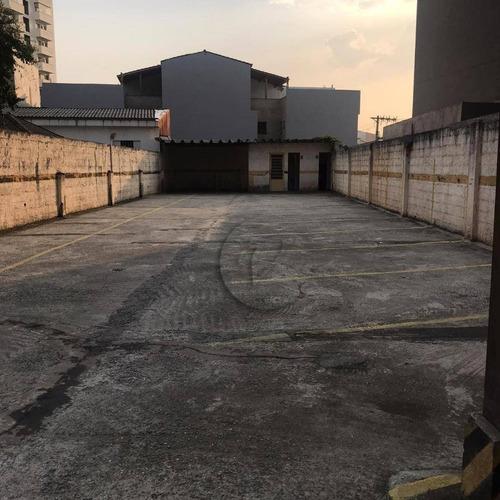 Imagem 1 de 17 de Terreno Para Alugar, 800 M² Por R$ 8.000,00/mês - Vila Assunção - Santo André/sp - Te0456
