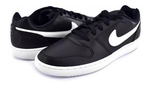 Tenis Nike Aq1775 002 Black/white Ebernon Low 25-31 Caballe
