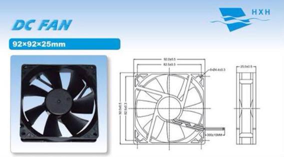 Micro Ventilador 9cm 90x90x25mm Fan Cooler 12v 90mm Promoção