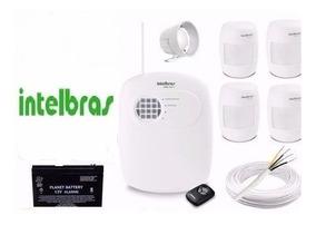 Kit Alarme Intelbras Residencial Comercial Salvador