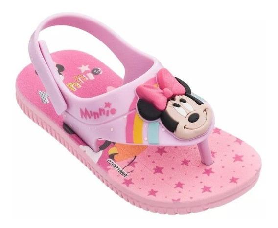 Sandália Disney Cute Minnie E Mickey - Grendene Kids