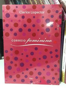 Livro Correio Feminino Clarice Lispector