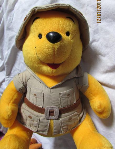 Pelúcia Urso Pooh Safari - 30 Cm Aceito Proposta