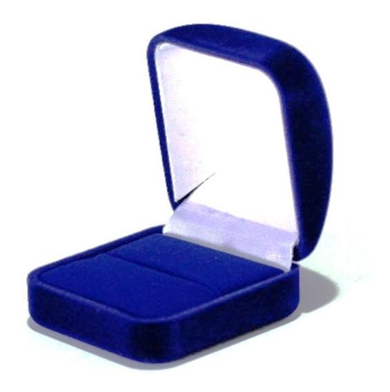 Anel Feminino Formatura Cravejado Safira Azul 350