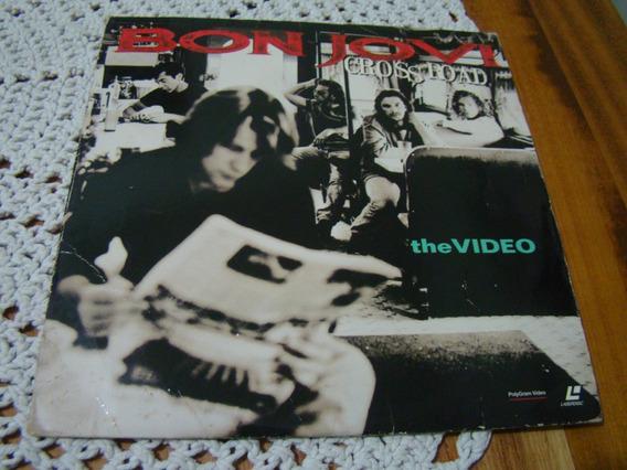 Disc Laser Bon Jovi Cross Road , Made In Usa
