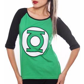 Playera Linterna Verde Mujer Con Envio Gratis