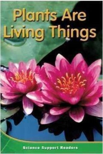 Livro Plants Are Living Things Houghton Mifflin
