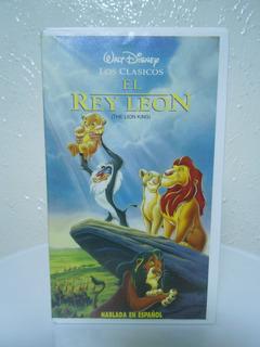 El Rey León Vhs Edición Original, Clásicos De Walt Disney
