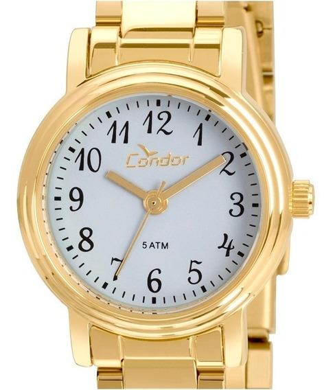 Relógio Condor Feminino Kit Com Pulseira Co2035kqc/k3k