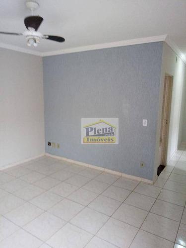 Apartamento Com 2 Dormitórios Para Alugar, 66 M² Por R$ 1.500/mês - Jardim Santa Clara Do Lago I - Hortolândia/sp - Ap1336