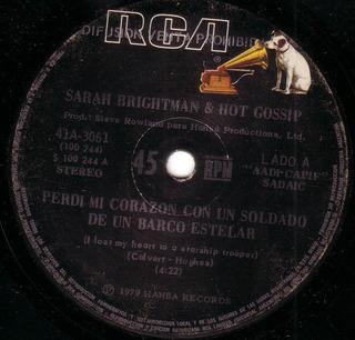 Sarah Brightman & Hot Gossip Perdi Mi Corazon Simple Pvl