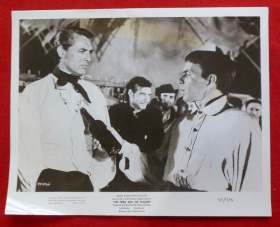 Cary Grant Y Frank Sinatra En The Pride And The Passion